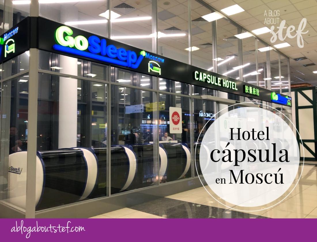 hotel capsula aeropuerto sheremetyevo en moscu