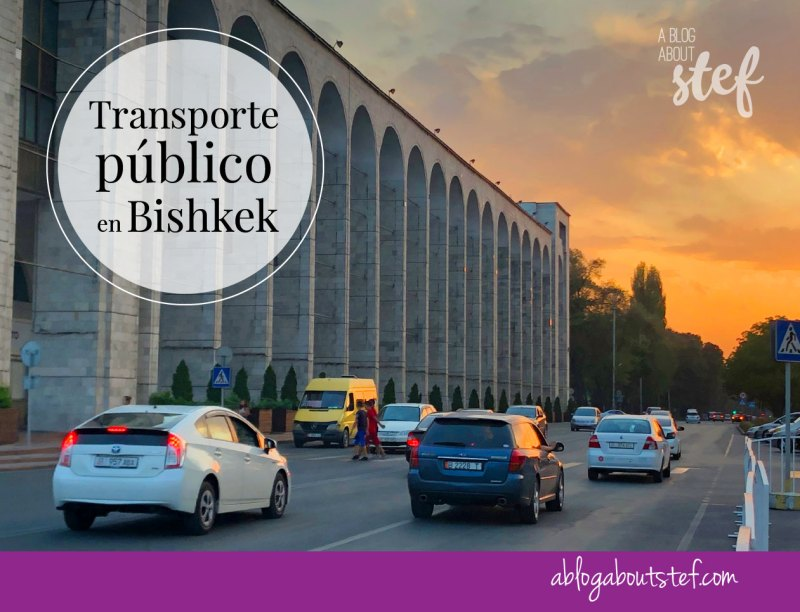 transporte publico en Bishkek