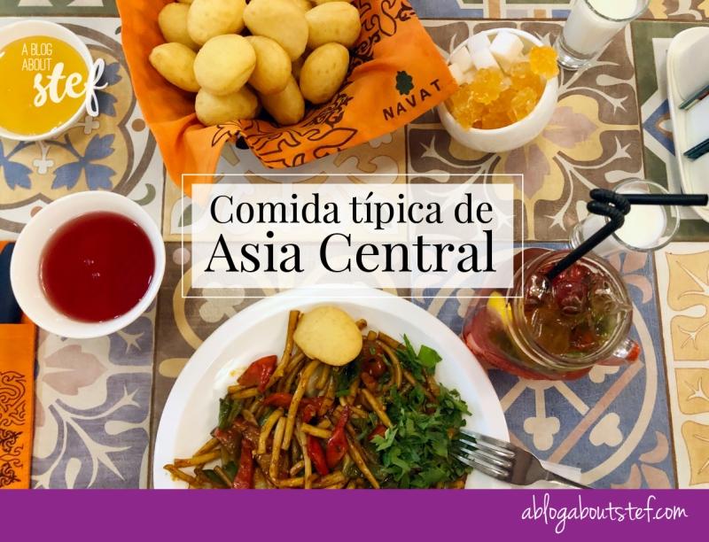 comida tipica asia central lagman borsok